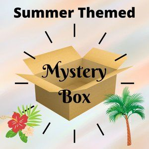 Summer Themed Mystery Box Bundle 7 items - XS to S